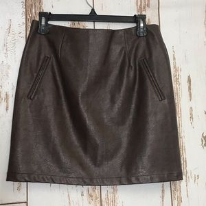 Pleather Skirt 👑